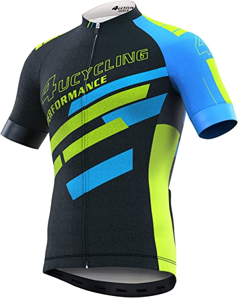 Mens Cycling Clothes Cycling Jersey Breathable Quick-dry Racing Bicycle Tops H29