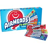 Airheads Candy Bars, Variety Bulk Box, Chewy Full Size Fruit Taffy, Back to School for Kids, Non Melting, Party, 72 Count