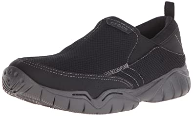 adb2a4e6b5c Crocs Men s Swiftwater Mesh Moc M Slip-On Loafer  Amazon.co.uk ...