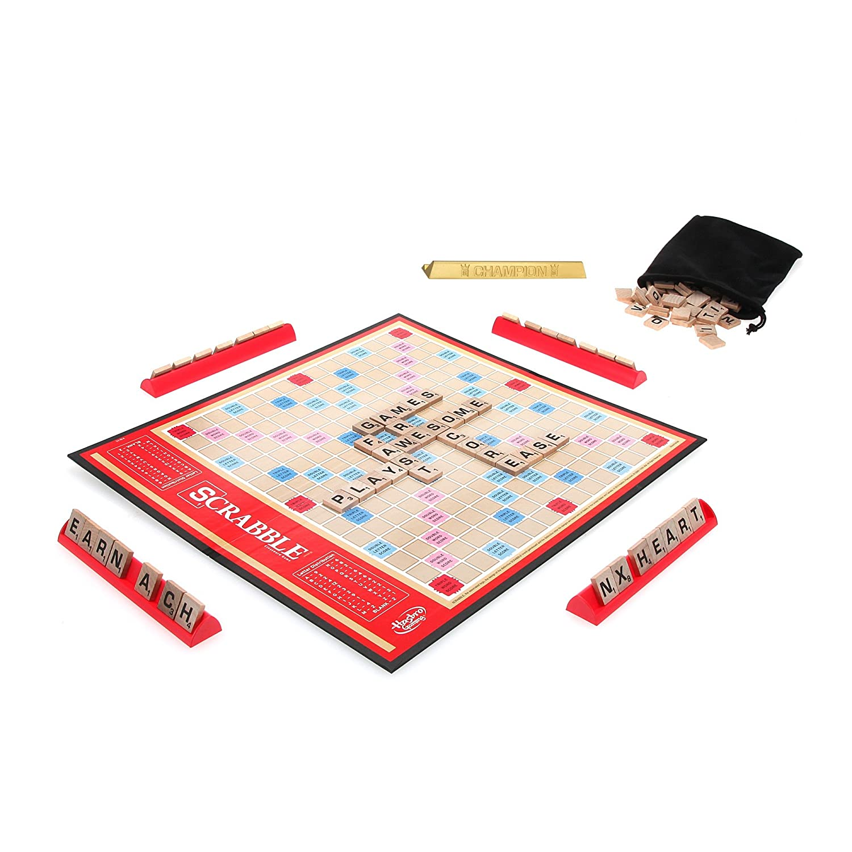 Scrabble A8166 Classic Scrabble by Hasbro: Amazon.de: Spielzeug