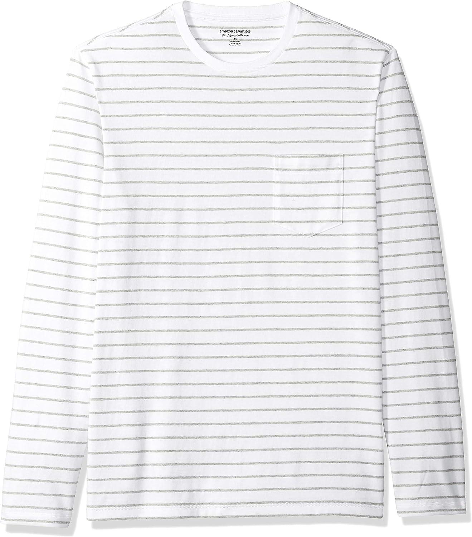 Essentials Mens Slim-Fit Long-Sleeve T-Shirt