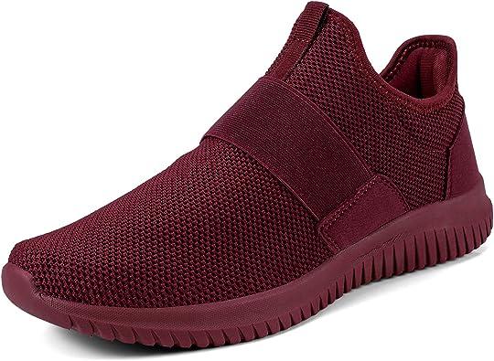Troadlop Mens Sneakers Slip on Mens