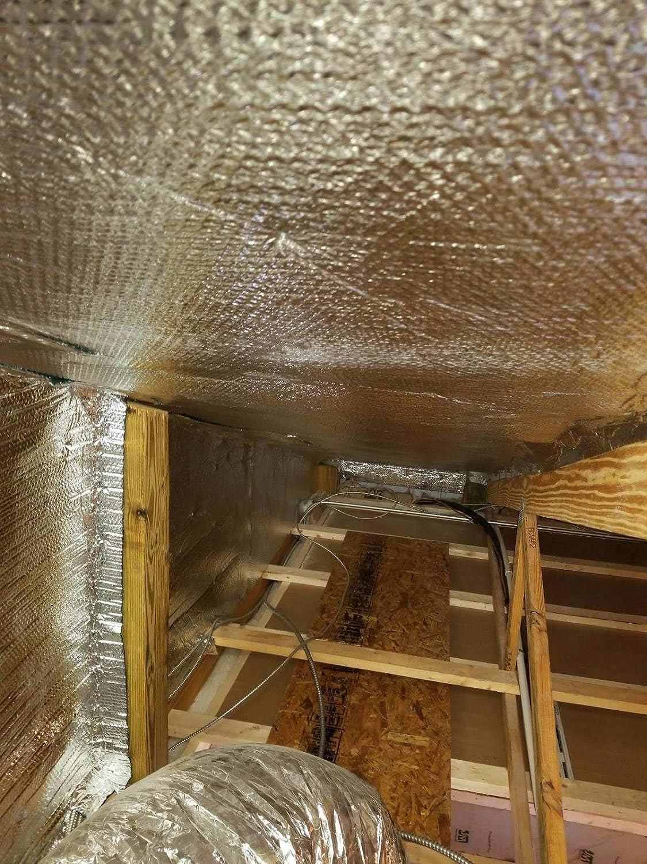 4ft x 125ft Foil Double Bubble Metal Building Solid Vapor Barrier Blocks 99/% Heat /& Condensation Residential Commercial XTEMP Double Bubble Reflective Aluminum Insulation Roll 500sqft US Energy