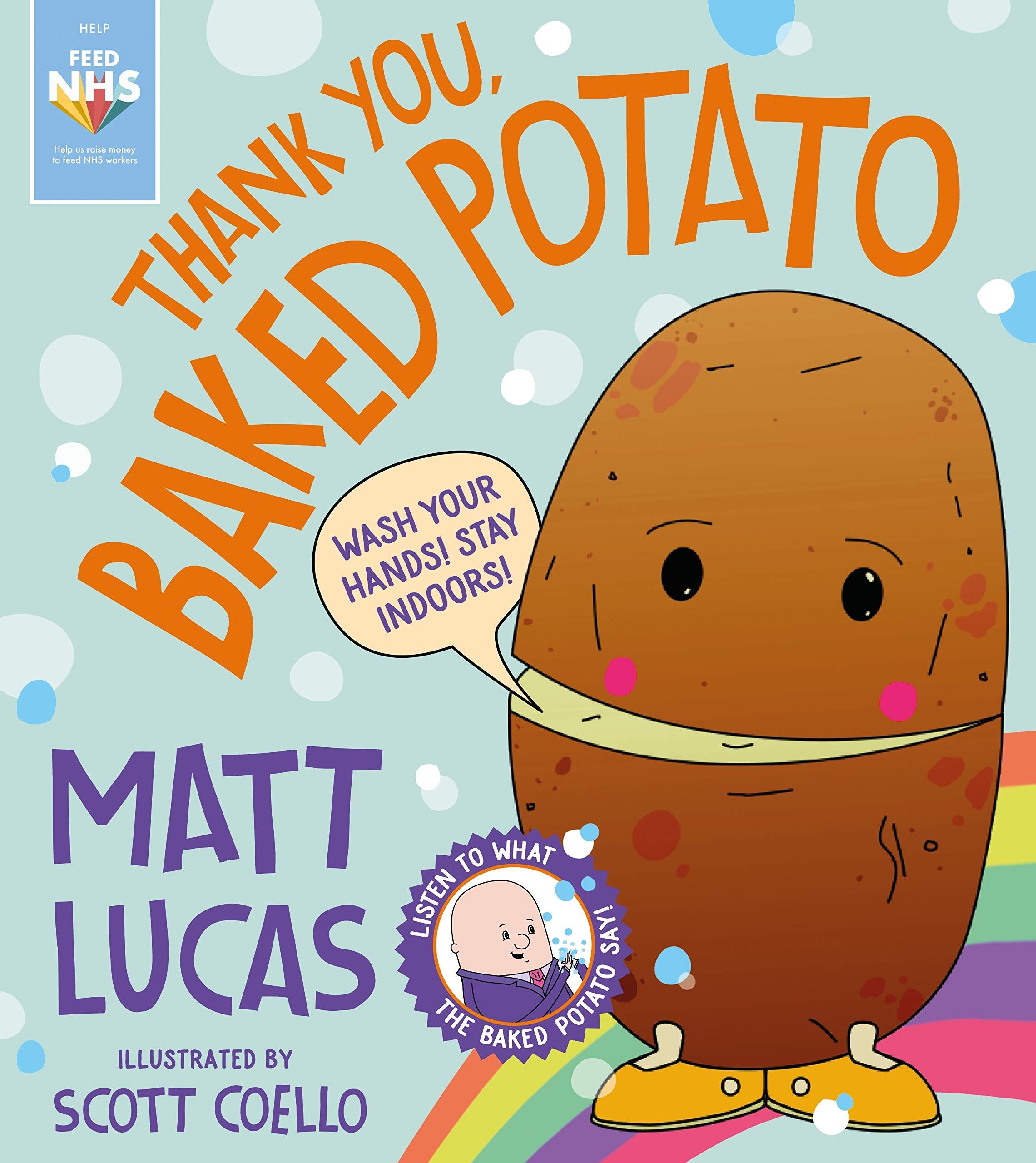Thank You Baked Potato Amazon Co Uk Lucas Matt Coello Scott