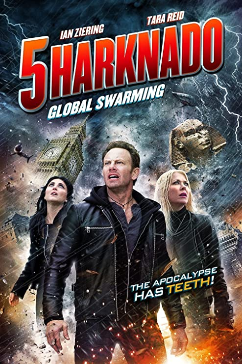 Amazon.com: Kirbis Sharknado 5 Global Swarming Movie Poster 18 x 28 Inches:  Posters & Prints