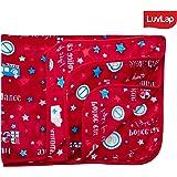 Luvlap Newborn Baby Soft Swaddling Blanket, Red Cars (80cm x 100cm)