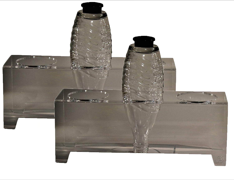 flexiPLEX Juego de 2 bottledry Triple de plexiglás (Escurridor ...