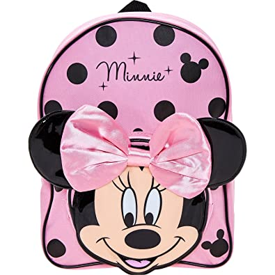 Womens Disney Pink Minnie Mouse Backpack Ladies (One Size - Pink)  Amazon.co .uk  Shoes   Bags e8d61156fa