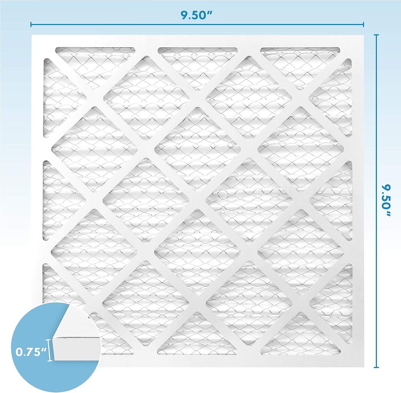 MervFilters 10x10x1 Air Filter, MERV 13, MPR 1500, AC Furnace Air Filter, 4 Pack: Home Improvement