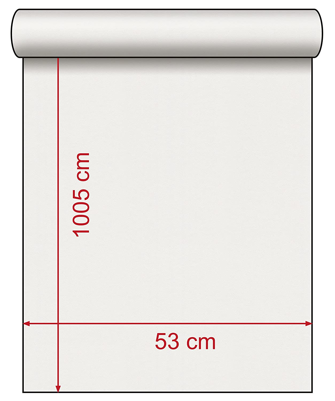 lxan 10,05/x 0,53/ Rasch 772616/449563/Colecci/ón Florentine II de papel pintado con carta de amor en marr/ón claro
