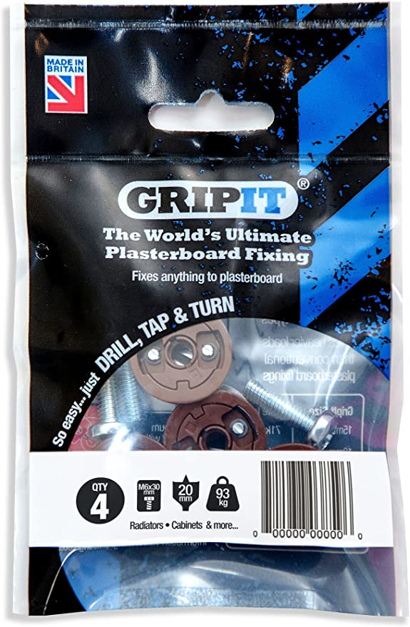 GripIt® Undercutting Tool 20mm for use with brown Gripit fixings