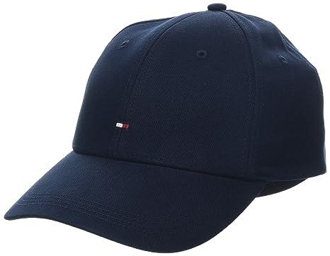 46f167b1 Tommy Hilfiger Men's Classic Baseball Cap, Midnight Blue, One Size: Amazon. co.uk: Clothing