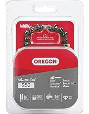 Oregon S52 14-Inch Semi Chisel Chain Saw Chain Fits Craftsman, Echo, Homelite, Poulan, Oregon PowerNow,