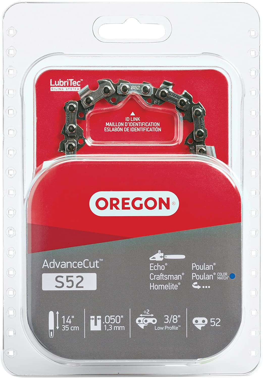 7. Oregon S52 Chainsaw Chain