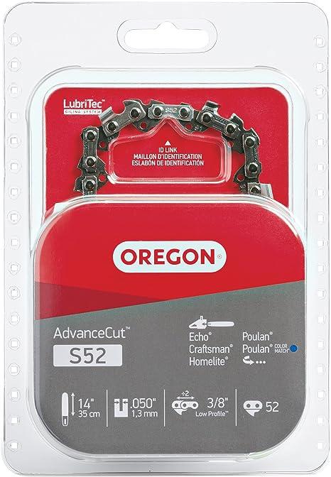 Echo Ryobi For Oregon R52 AdvanceCut 14-Inch Chainsaw Chain Fits Husqvarna