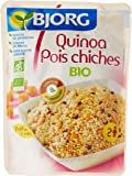 Bjorg Quinoa Pois Chiches Bio Sachet 2 personnes 250 g