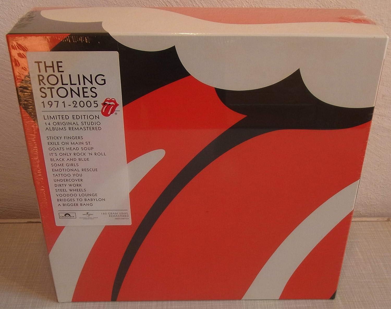 Rolling Stones 1971-2005 Vinyl Box Set : The Rolling Stones: Amazon.es: Música