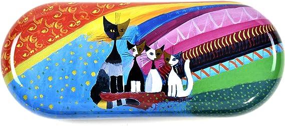 Fridolin Brillenetui Rosina Wachtmeister Under The Rainbow Aus Metall Größe Ca 16 X 3 1 X 6 7 Cm Küche Haushalt