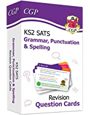 New KS2 English SATS Revision Question Cards: Grammar, Punctuation & Spelling (for the 2020 tests) (CGP KS2 English SATs)
