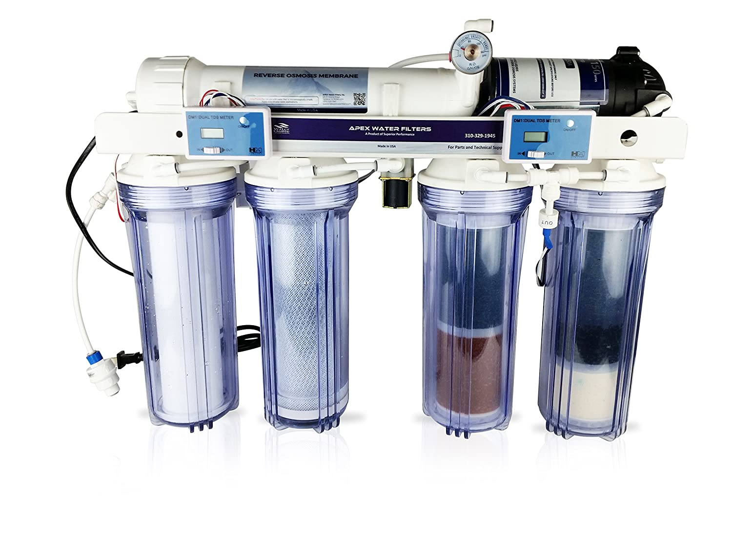 Pet Supplies Humorous 5 Stage Aquarium Reef Reverse Osmosis/deionization Water Filtration System Rodi 100% Original