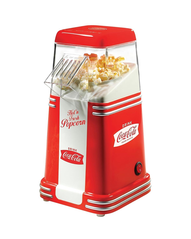 Nostalgia RHP310COKE Coca-Cola 8-Cup Hot Air Popcorn Maker EMG East Inc. (direct order)