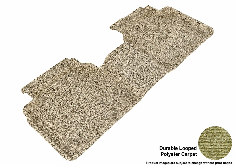 Classic Carpet L1FR01312201 Gray 3D MAXpider Front Row Custom Fit Floor Mat for Select Ford Fusion Models