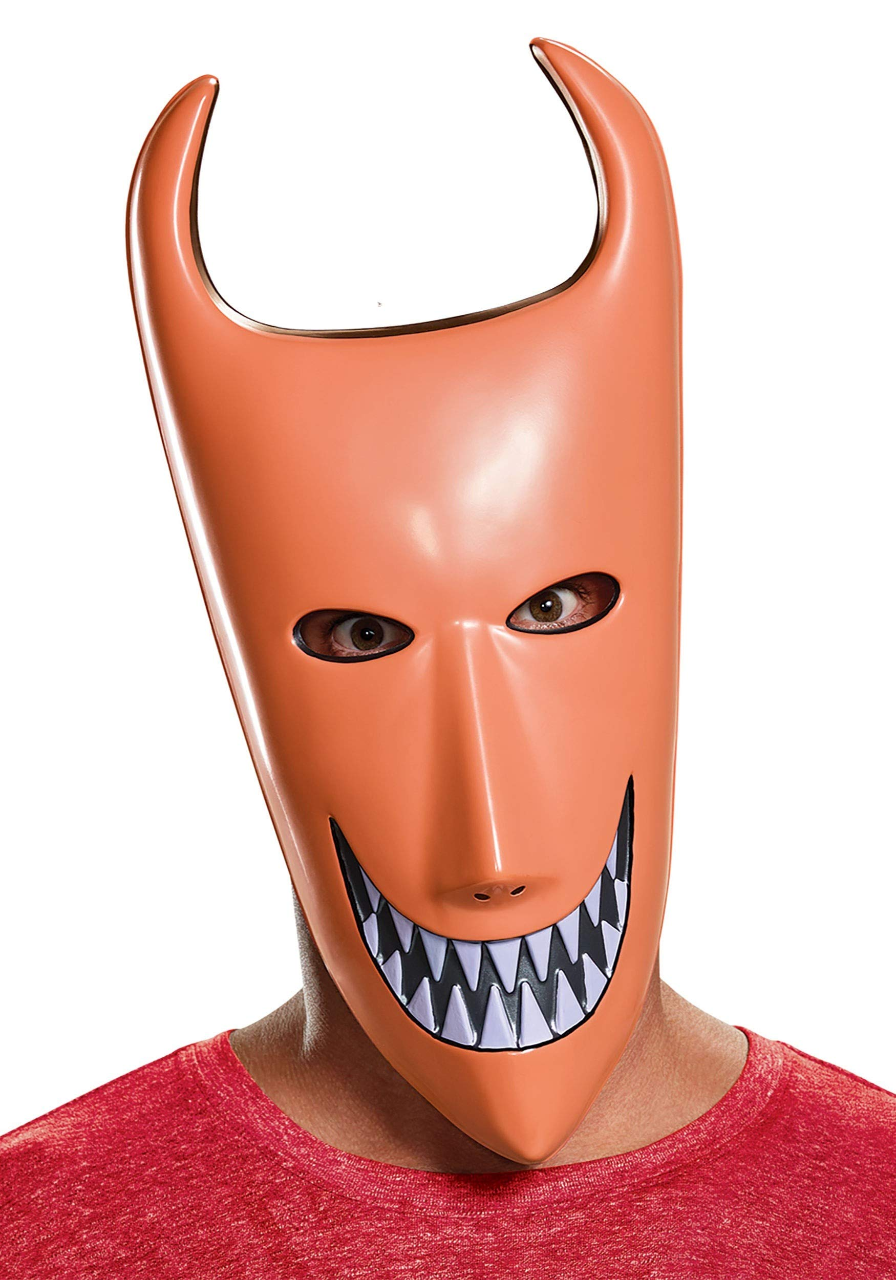 Disguise Men's Lock Adult Mask, Red, One Size