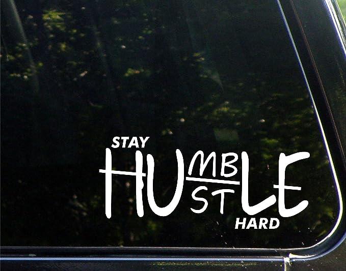Hustle Windshield Banner Decal Sticker Graphic