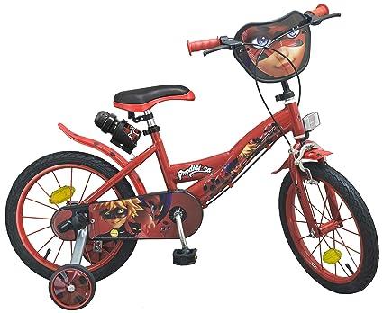 Amazon.com: Toimsa Girls 1691 - Bicicleta - Ladybug - 16 de ...