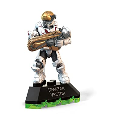 Mega Construx Halo Spartan Vector Building Set: Toys & Games