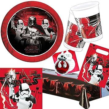 101 piezas Party * Star Wars 8 * para cumpleaños infantiles ...