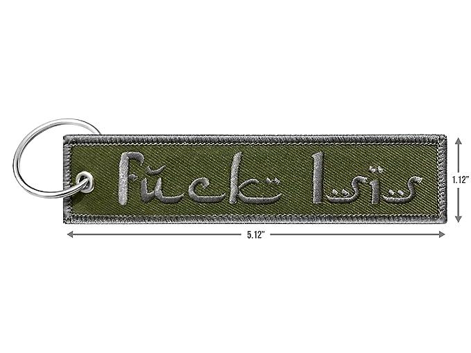 Amazon.com: Llavero militar etiqueta con llavero, EDC para ...