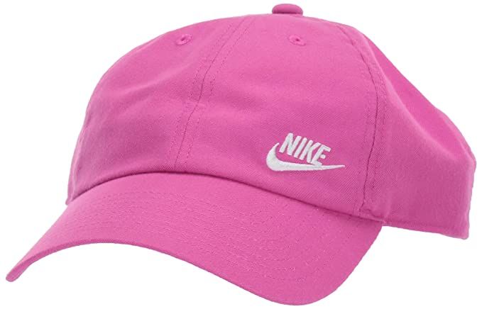 factory authentic 3b810 18901 NIKE Women s H86 Cap Futura Classic, Active Fuchsia White, One Size