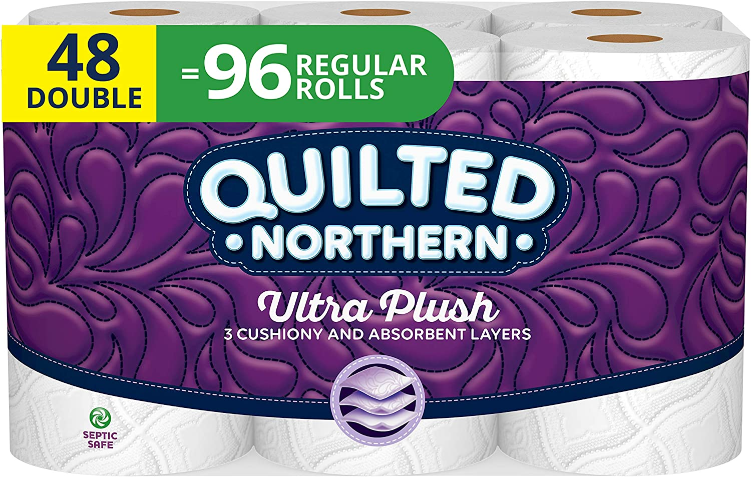 Quilted Northern Ultra Plush is a very soft and comfortable toilet paper that gives you that luxurious feel while still being eco friendly