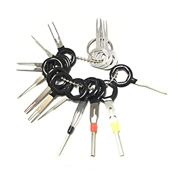 81stD2nsqpL._SY355_ 14pcs auto car plug circuit board wire harness terminal extractor wire harness pin tool at readyjetset.co