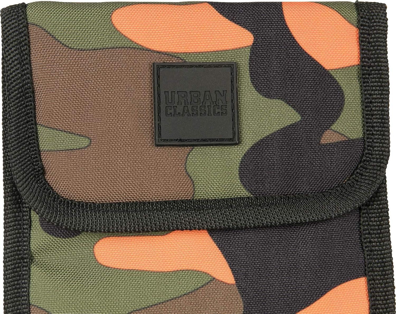 One Size Urban Classics OXFORD Neck Pouch Shoulder Bag orange camo