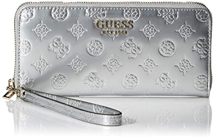 GUESS Peony Shine Large Zip Around Wallet: Amazon.es: Equipaje
