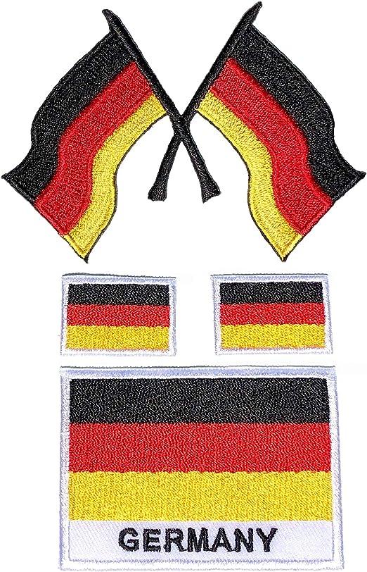 i-Patch – Parches – 0193 – Bandera de Alemania – BRD – Escudo – Berlín – Ejército Federal – Ejército de los Estados Unidos – Insignia – Aplicación – Parche – Parche – Adhesivos – Parche: Amazon.es: Juguetes y juegos