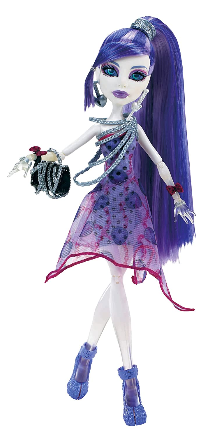 Uncategorized Spectra From Monster High amazon com monster high dot dead gorgeous spectra vondergeist doll toys games