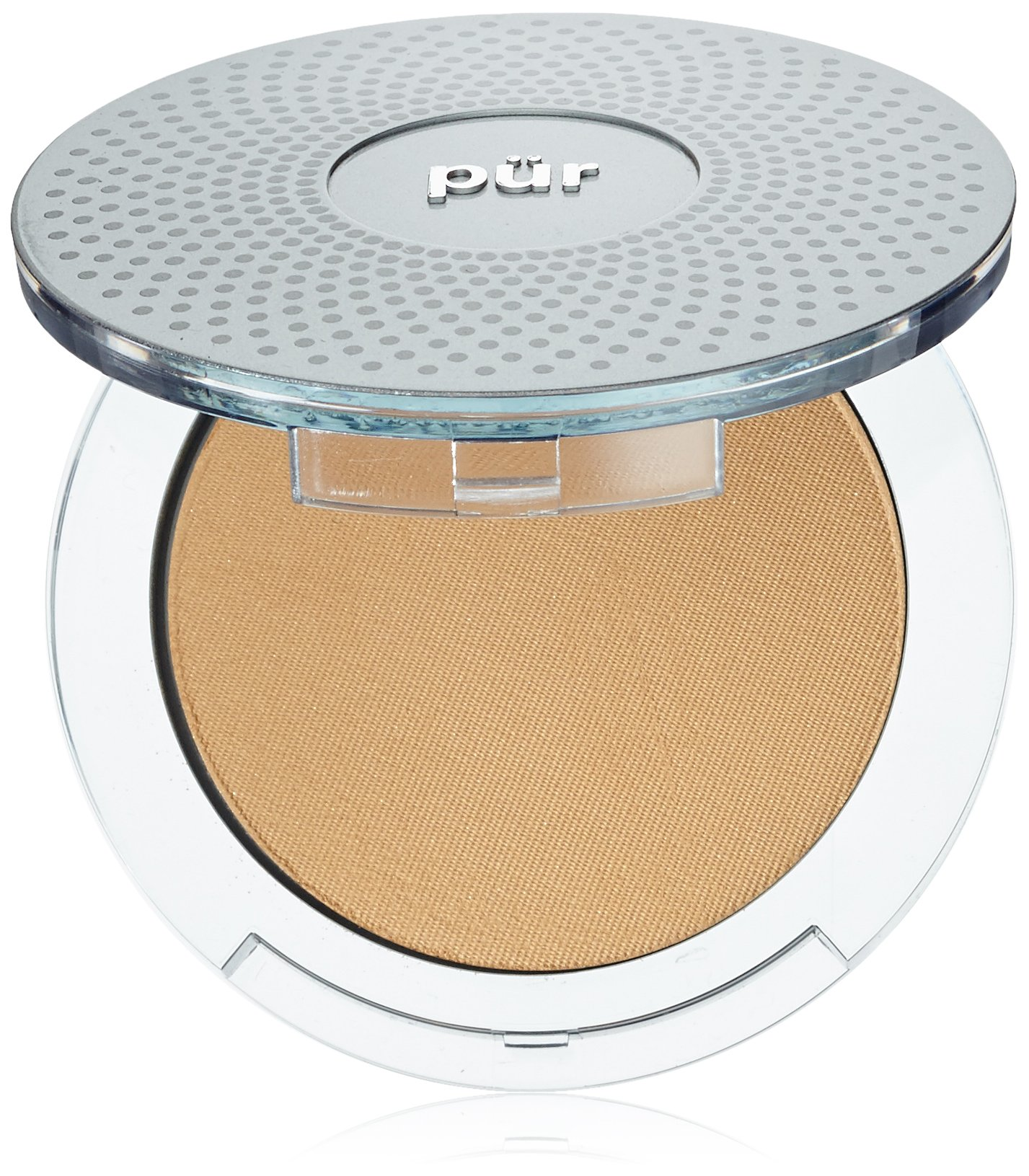 Pur Minerals 4-In-1 Pressed Mineral Makeup, Light Tan, 0.28 Ounce