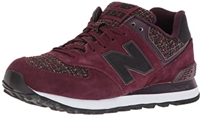 8f41732e6ae2 New Balance 574, Baskets Femme, Argent (Gunmetal), 40 EU: Amazon.fr ...