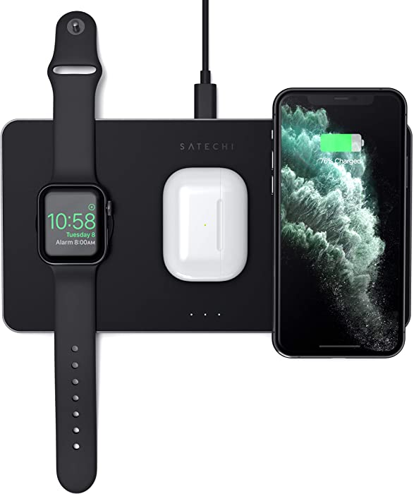 Top 10 Case Compatable Dual Iphone Apple Watch Charger