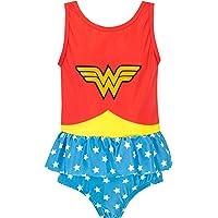 DC Comics Bañador para Niña Mujer Maravilla Wonder Woman