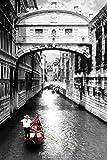 1art1 43967 Poster Venise Le Pont Des Soupirs Ponte Dei Sospiri 91 X 61 cm