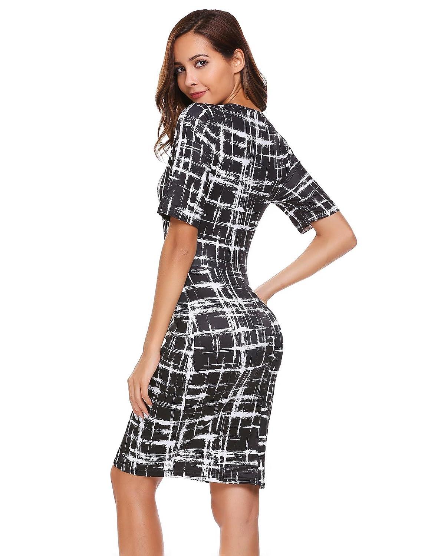 25db58f86dea ACEVOG Women's Sexy V Neck Sleeveless Spaghetti Strap Velvet Bodycon Dress  Front Slit Bandage Midi Club Dress at Amazon Women's Clothing store: