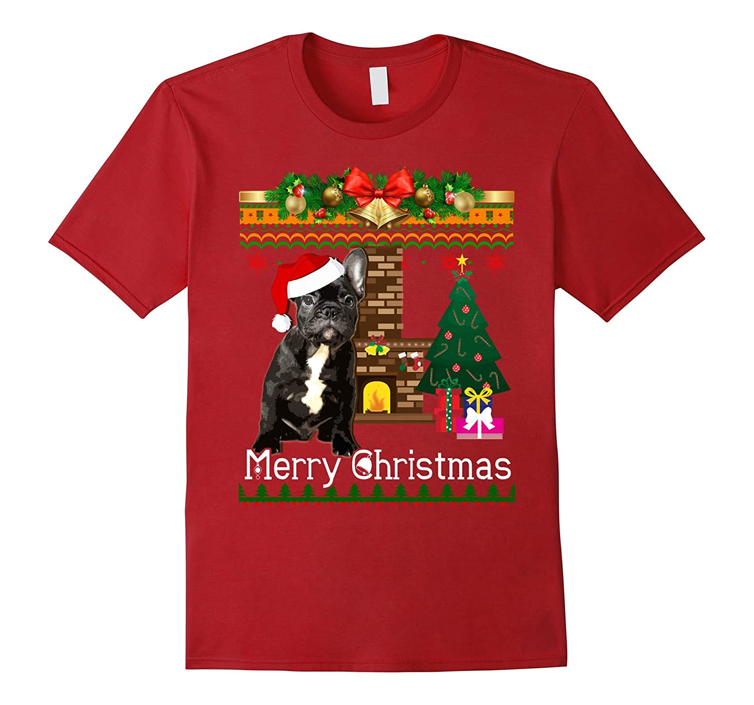 ugly christmas sweater french bulldogs t shirt funny dog anz