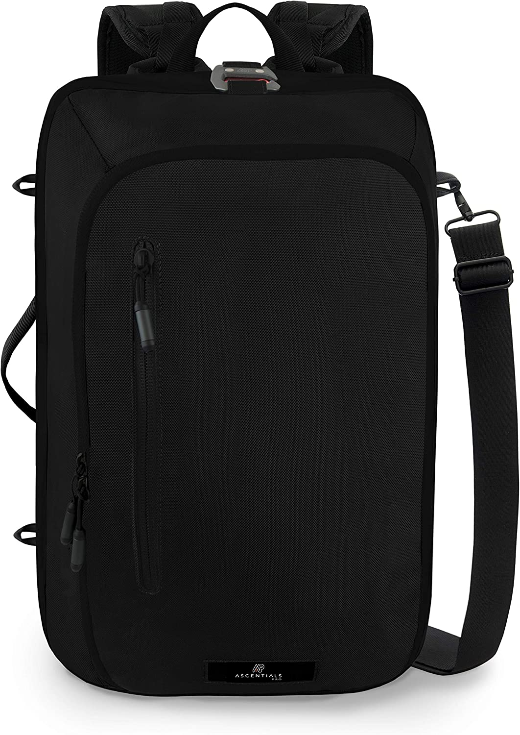Ascentials Pro Meta, Business Laptop Backpack, Duffel Bag for Men with 15 inch Laptop Sleeve, 22 Liters