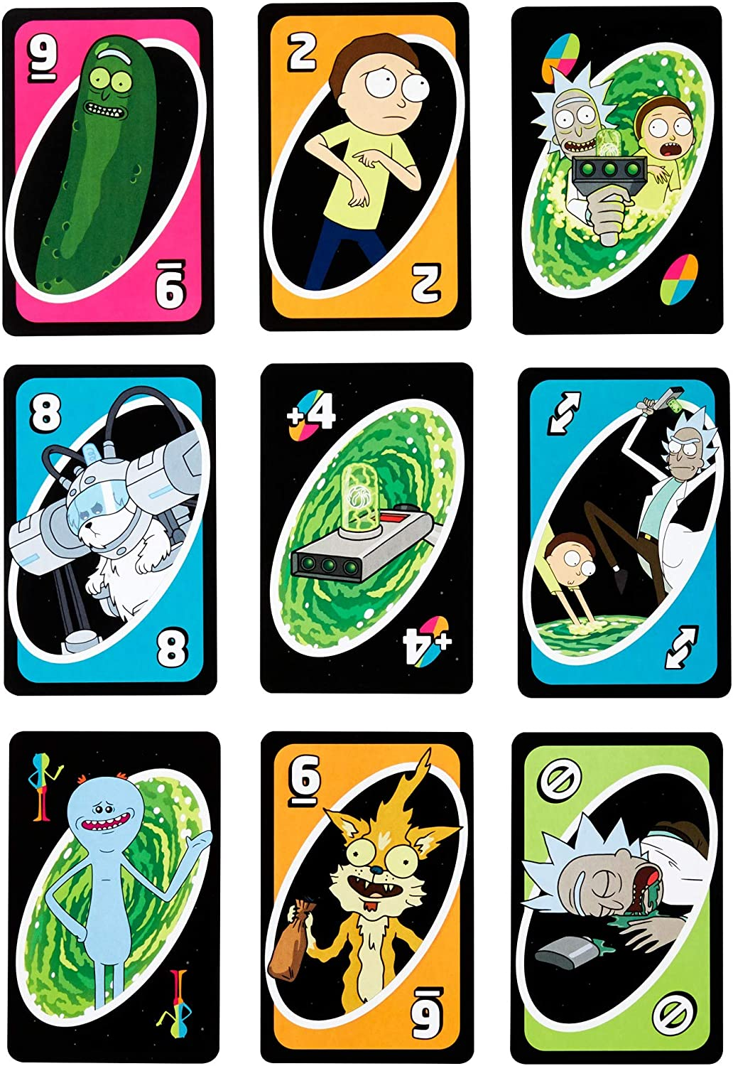 Mattel Games UNO: Rick and Morty - Juego de Cartas: Amazon.es ...