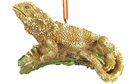 Amazoncom Bearded Dragon Pet Lizard Reptile Animal Christmas Tree