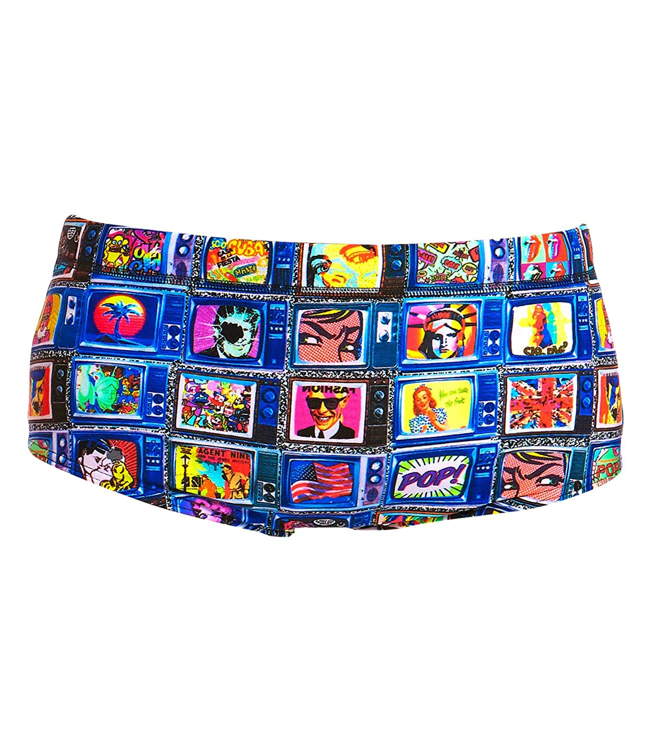 Funky Trunks Jungen Badehose Classic Trunks Square Eyes